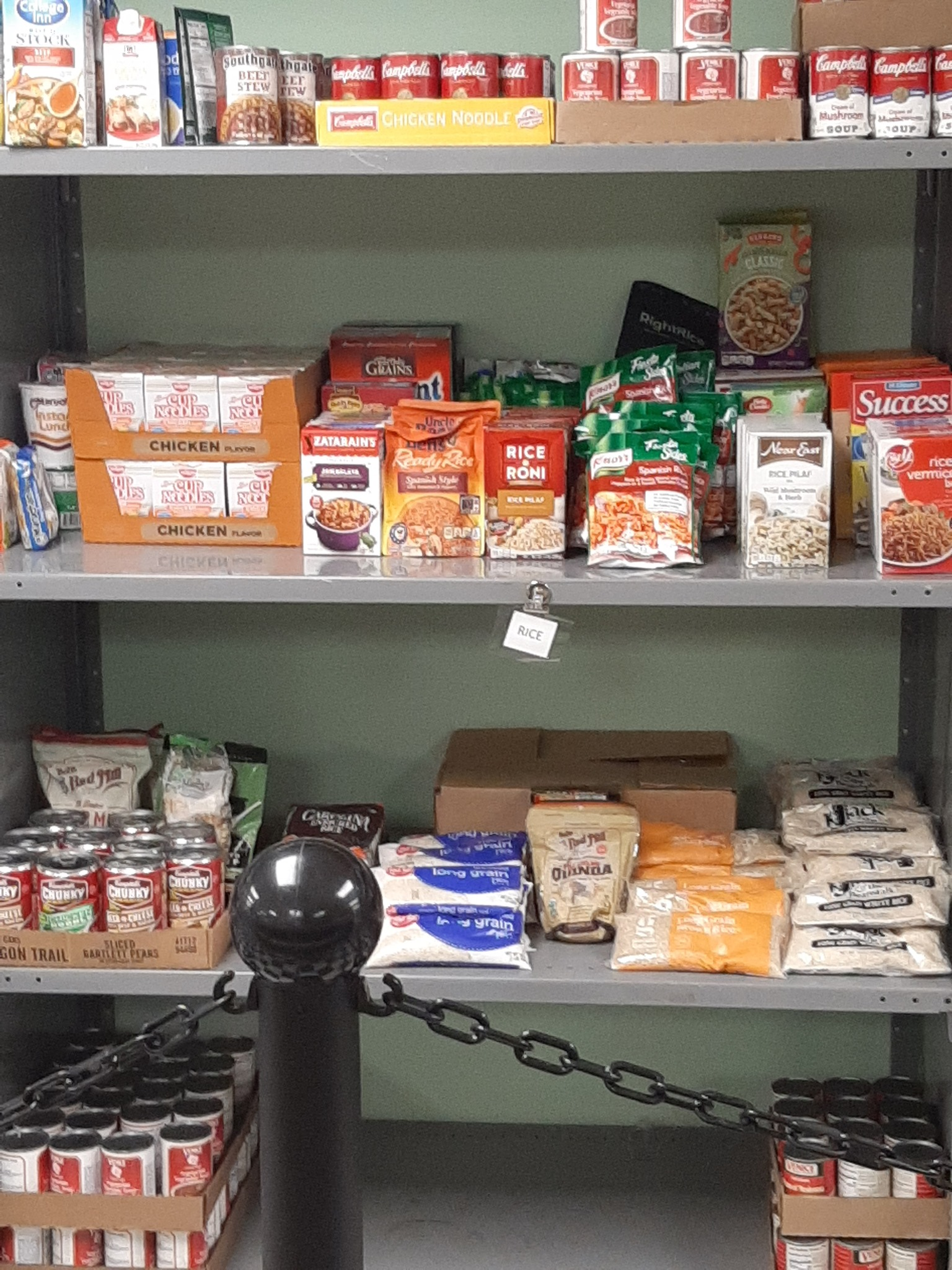 Project Pin Food Pantry
