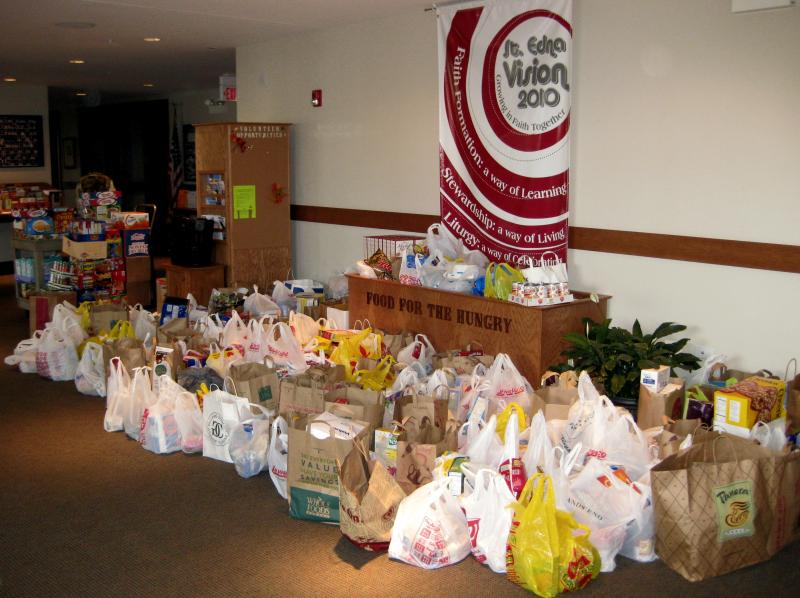 St. Edna Catholic Church Food Pantry