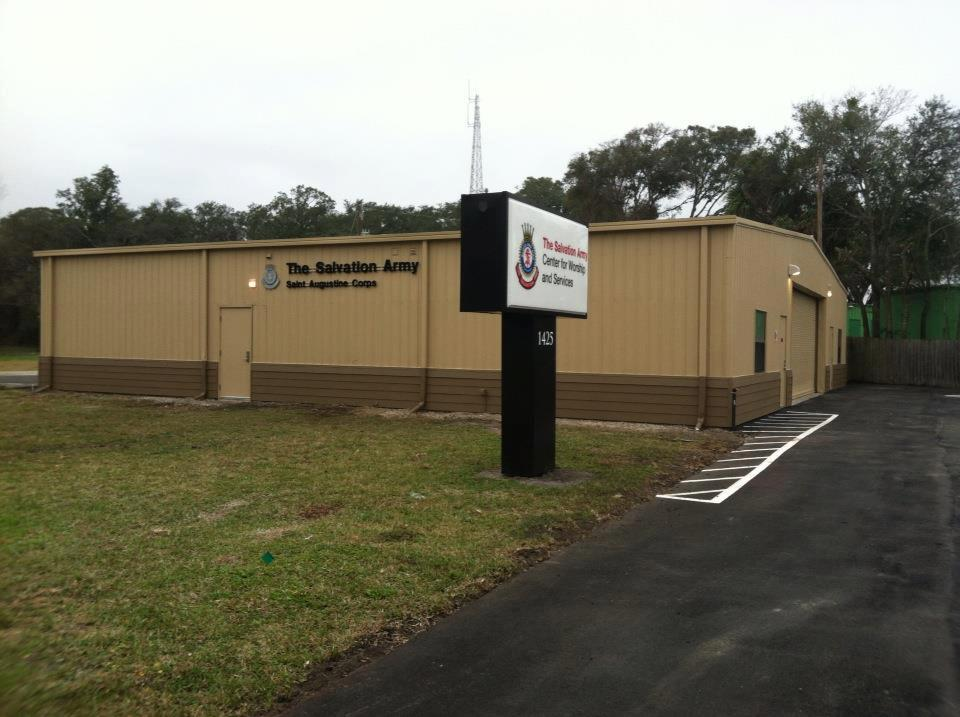 Salvation Army St. Johns County Food Pantry