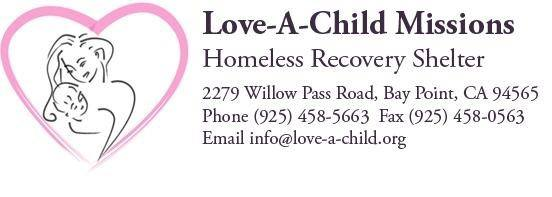 Love-A-Child Missions Homeless Recovery Shelter